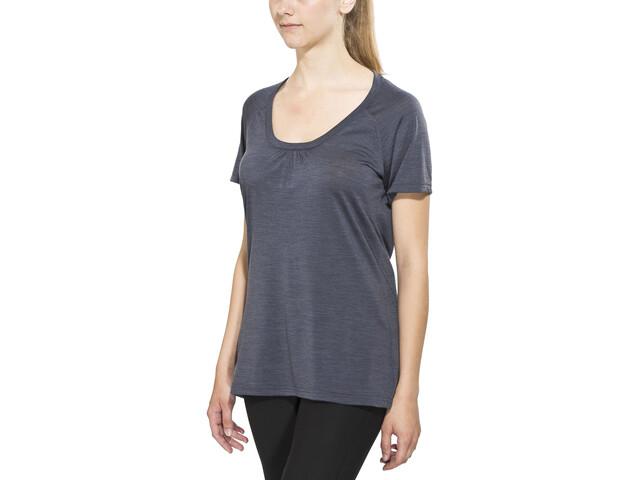 Bergans Sveve T-shirt en laine Femme, night blue mel